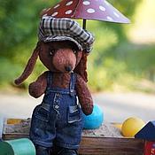 Куклы и игрушки ручной работы. Ярмарка Мастеров - ручная работа Таксик Гаврик.. Handmade.