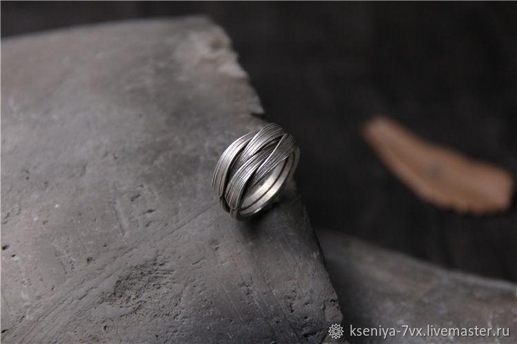 Кольцо серебряное плетёное, Кольца, Владивосток, Фото №1