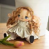 Портретная кукла ручной работы. Ярмарка Мастеров - ручная работа Кукла текстильная Агния. Handmade.