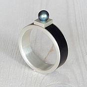 Украшения handmade. Livemaster - original item Ring with pearls.. Handmade.