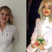 Куклы и игрушки ручной работы. Ярмарка Мастеров - ручная работа Кукла подарочная портретная по фото. Handmade.