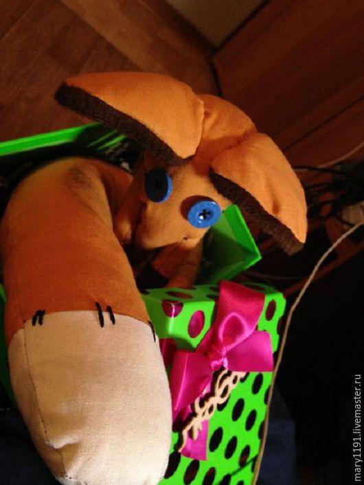 Игрушки животные, ручной работы. Ярмарка Мастеров - ручная работа. Купить Игрушки Ручной Работы. Handmade. Комбинированный, лис игрушка