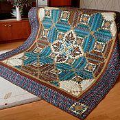 Для дома и интерьера handmade. Livemaster - original item blanket. Patchwork