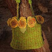 Сумки и аксессуары handmade. Livemaster - original item Bag woven