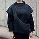 Верхняя одежда ручной работы. Ярмарка Мастеров - ручная работа. Купить Пальто авторское. Handmade. Серый, пальто, авторская одежда