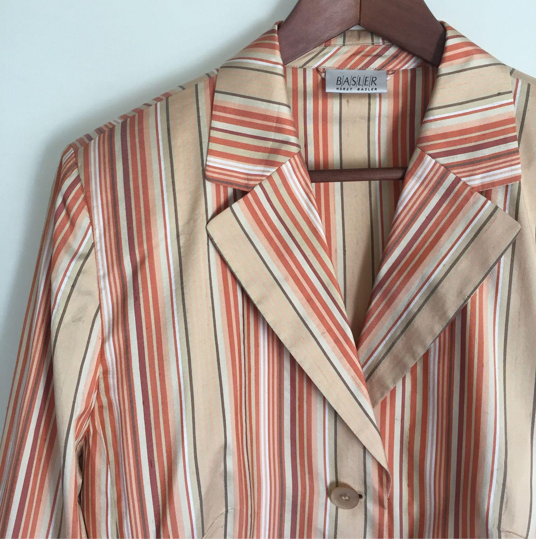 Винтаж: Премиум! Жакет Basler, 100% шёлк, Одежда винтажная, Оренбург,  Фото №1
