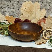 Посуда handmade. Livemaster - original item Wooden Bowl (17cm) 100%#66. Handmade.