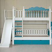 Для дома и интерьера handmade. Livemaster - original item Children`s bed with slide. Handmade.