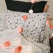 Для дома и интерьера handmade. Livemaster - original item New year`s set of bed linen from ranfors. Handmade.
