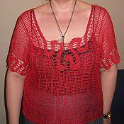 Одежда handmade. Livemaster - original item Openwork blouse. Handmade.