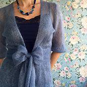 Одежда ручной работы. Ярмарка Мастеров - ручная работа Невесомый кардиган из кид-мохера. Handmade.
