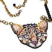 Украшения handmade. Livemaster - original item Wild cat. Handmade.