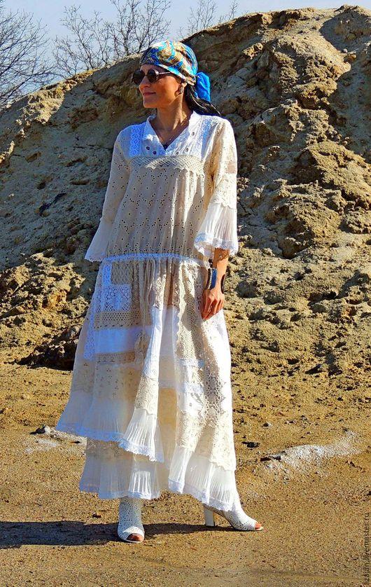 платье бохо, стиль бохо, платье макси, платье из кружева, бохо, бохо стиль