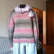 """Одежда ручной работы. Ярмарка Мастеров - ручная работа Пуловер """"Деграде"""". Handmade."""