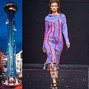 """Одежда ручной работы. Ярмарка Мастеров - ручная работа Платье """"Башня Хундертвассера"""". Handmade."""