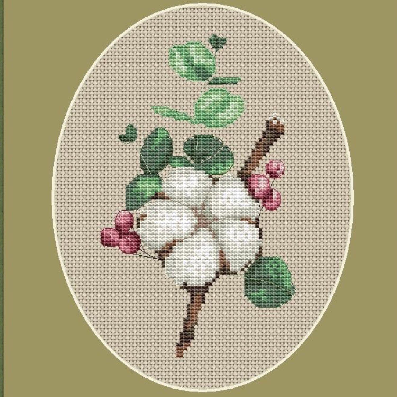 Схема для вышивки «Хлопок», Схемы для вышивки, Курск,  Фото №1