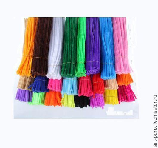 Шитье ручной работы. Ярмарка Мастеров - ручная работа. Купить Мушки на вуаль. Пушистая проволока - синель. (выбрать цвет). Handmade.