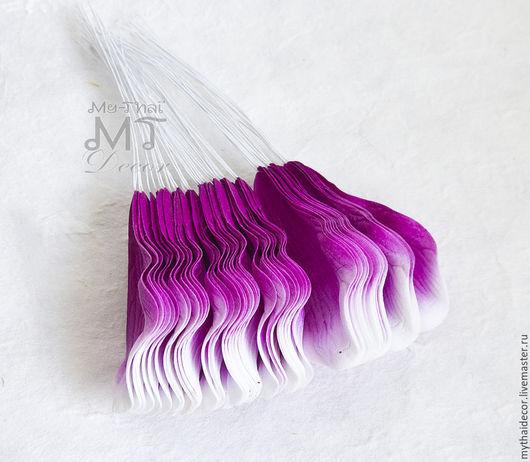 Сиреневые лепестки магнолии My Thai Материалы для флористики из Таиланда