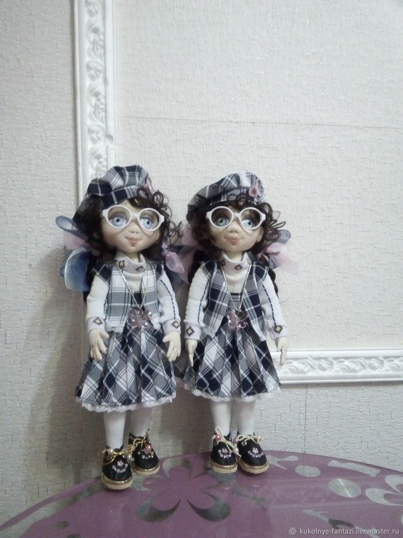 близняшки Оля и Яло, Портретная кукла, Новотроицк,  Фото №1