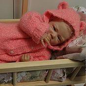 """Работы для детей, ручной работы. Ярмарка Мастеров - ручная работа Комбинезон """"Лапочка"""" в розовом.. Handmade."""