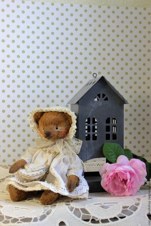 Мишки Тедди ручной работы. Ярмарка Мастеров - ручная работа. Купить Monica. Handmade. Мишка тедди, белый цвет