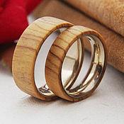 Деревянные кольца DZ001