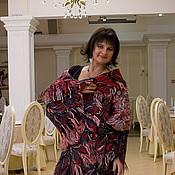 Одежда ручной работы. Ярмарка Мастеров - ручная работа пальто Красное и черное. Handmade.