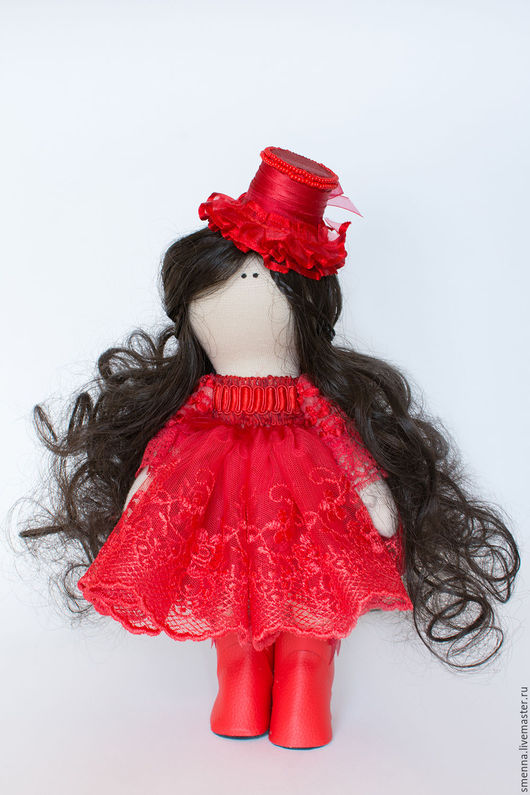 Коллекционные куклы ручной работы. Ярмарка Мастеров - ручная работа. Купить Интерьерная кукла ручной работы. Handmade. Комбинированный, Большеголовка