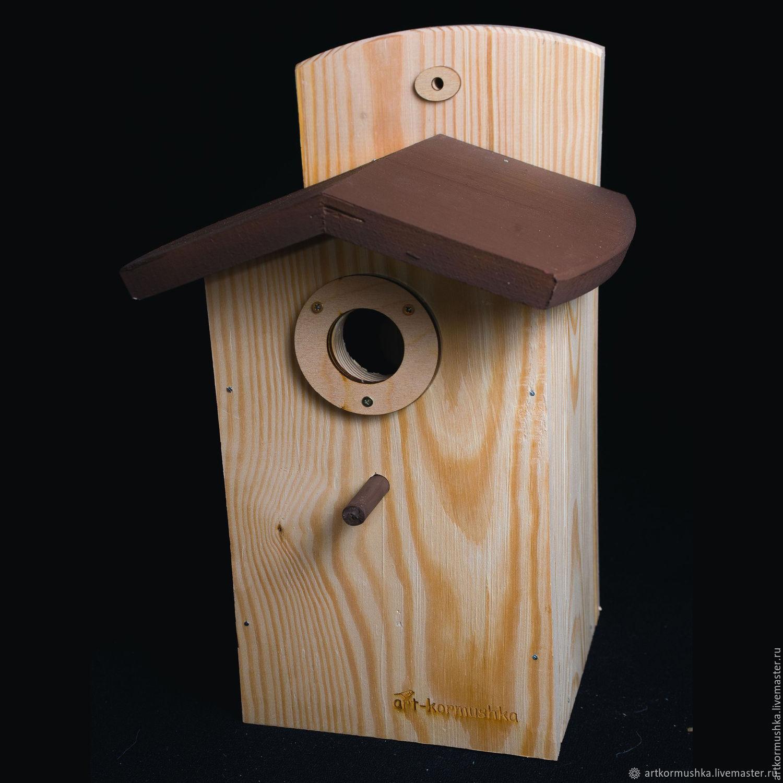 Birdhouse-Sinichkin 'Chocolate', Bird feeders, Moscow,  Фото №1