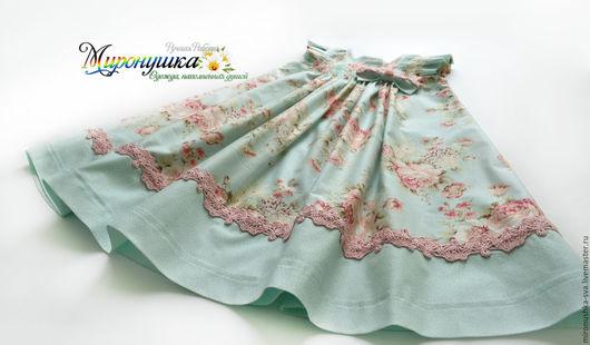 """Одежда для девочек, ручной работы. Ярмарка Мастеров - ручная работа. Купить Платье """"Романтика"""". Handmade. Бледно-розовый, пышное платье"""