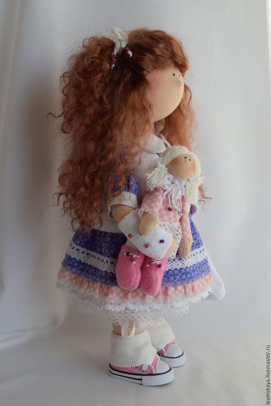 Коллекционные куклы ручной работы. Ярмарка Мастеров - ручная работа. Купить Кукла для Ирины.. Handmade. Фиолетовый, лучший подарок