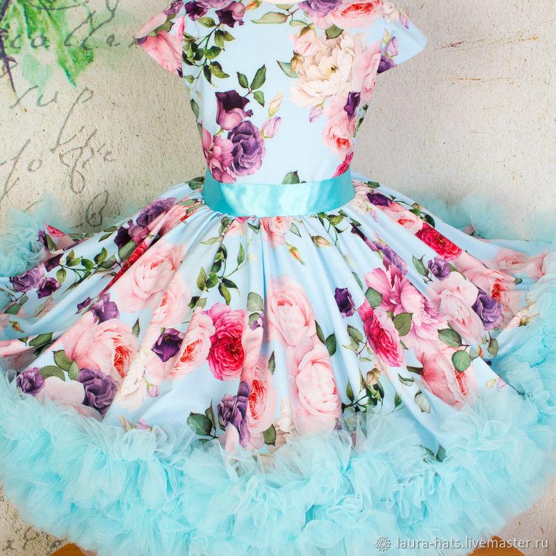 Платье для девочки Зефир Платье для девочки в стиле Стиляги