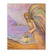 Картины и панно handmade. Livemaster - original item The picture angel of the Light bringer.. Handmade.