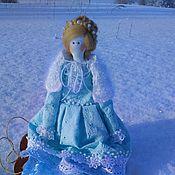 Куклы и игрушки ручной работы. Ярмарка Мастеров - ручная работа Зимний ангел Снежка.. Handmade.