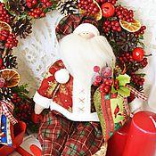 Подарки к праздникам ручной работы. Ярмарка Мастеров - ручная работа Санта Тильда с мешком подарков. Handmade.