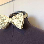 Аксессуары handmade. Livemaster - original item Butterfly COLD /. Gold brocade. Handmade.
