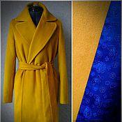 Одежда ручной работы. Ярмарка Мастеров - ручная работа Пальто  (шерсть,шелк). Handmade.