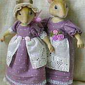 Куклы и игрушки ручной работы. Ярмарка Мастеров - ручная работа Лавандовые мышки. Handmade.