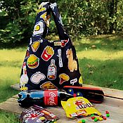 Сумки и аксессуары handmade. Livemaster - original item Bag: For food. Handmade.