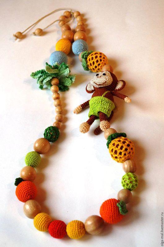 Слингобусы Озорная обезьянка будут отличным подарком молодой маме к Новому 2016 году. Слингобусы Обезьянка.