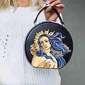 Сумки и аксессуары handmade. Livemaster - original item Handbag painted VENERA. Handmade.