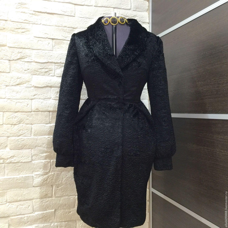 63cd14b96b7 Верхняя одежда ручной работы. Ярмарка Мастеров - ручная работа. Купить  Пальто из каракуля Тюльпан ...
