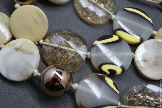 Винтажные украшения. Ярмарка Мастеров - ручная работа. Купить Милые летние бусы. Handmade. Винтаж, винтажная брошь, бусы