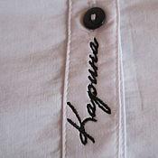 Одежда ручной работы. Ярмарка Мастеров - ручная работа Вышивка на одежде. Handmade.