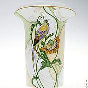 Для дома и интерьера handmade. Livemaster - original item porcelain vase