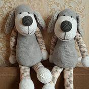 Куклы и игрушки ручной работы. Ярмарка Мастеров - ручная работа Щенок -ручная работа. Handmade.