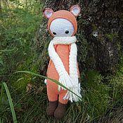 Куклы и игрушки ручной работы. Ярмарка Мастеров - ручная работа Лисичка Фиби. Handmade.