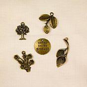 Материалы для творчества handmade. Livemaster - original item Charm pendants.. Handmade.