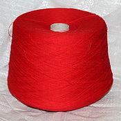 Материалы для творчества handmade. Livemaster - original item The acrylic yarn PAN Red poppy 961 reel. Handmade.