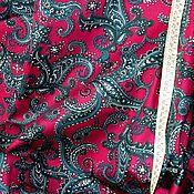 Ткани ручной работы. Ярмарка Мастеров - ручная работа Хлопок с эластаном. джинса тонкая. Handmade.